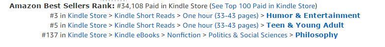 Bestseller rankings